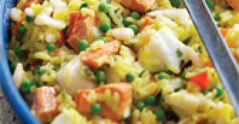 Wild Alaska Seafood Paella