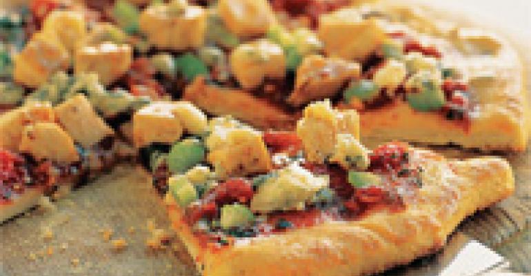 Hot and Honey Buffalo Chicken Pizza