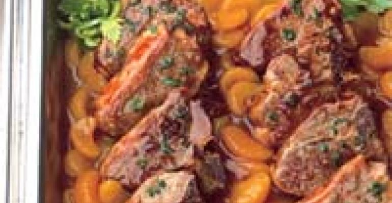 Lamb Chops in Orange Sauce