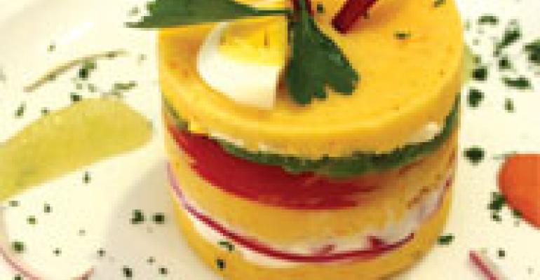 Chilled Layered Potato Salad (Causa Limena)