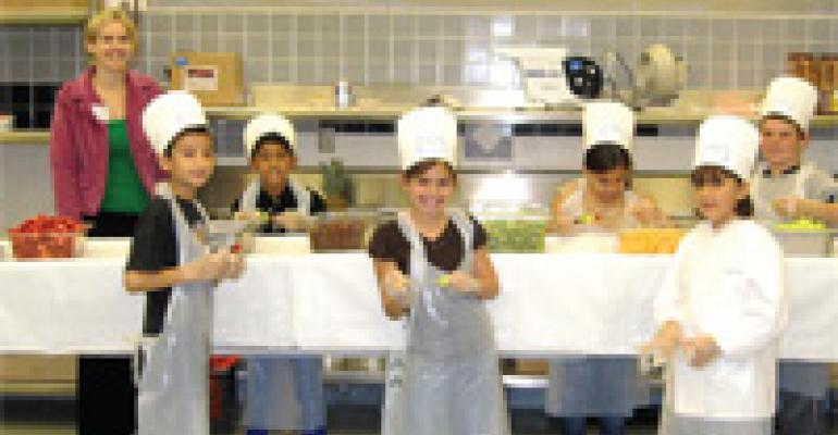 Kid Cooking Campaign Encourages Meal Sharing