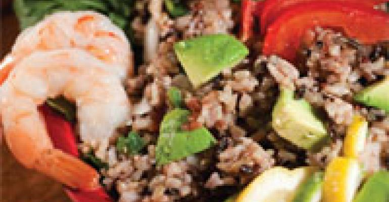 California Wild Rice Confetti Shrimp Salad