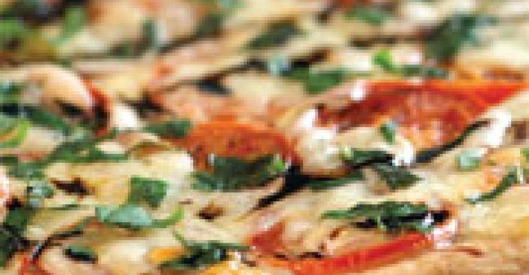 Mild Provolone & Tomato Pizza