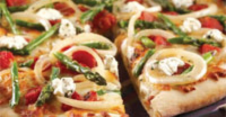 Sweet Vidalia Primavera Pizza