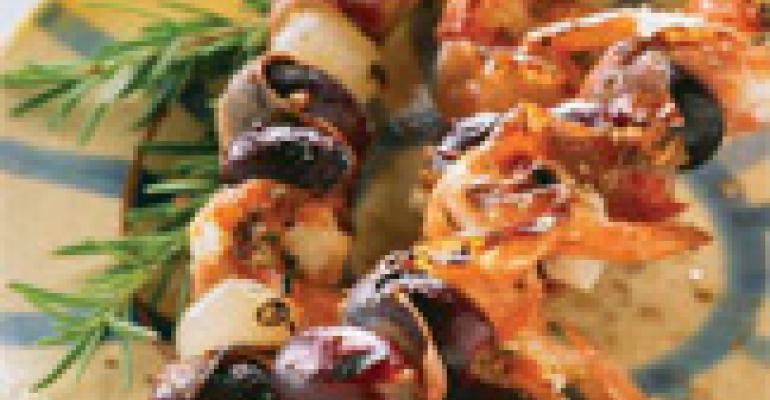 Grilled Antipasto Skewers