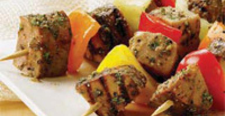 Mediterranean Rub for Pork Skewers