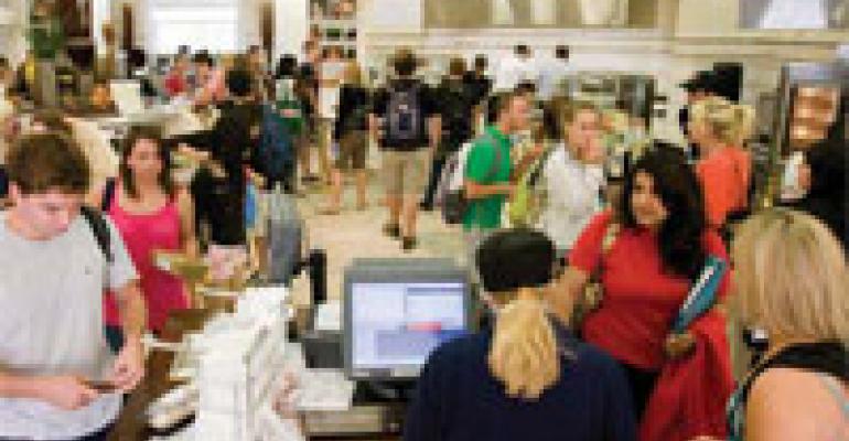 FM 2010 Best Concept Awards' Best Service Concept: Miami (OH) University's Dividends Café
