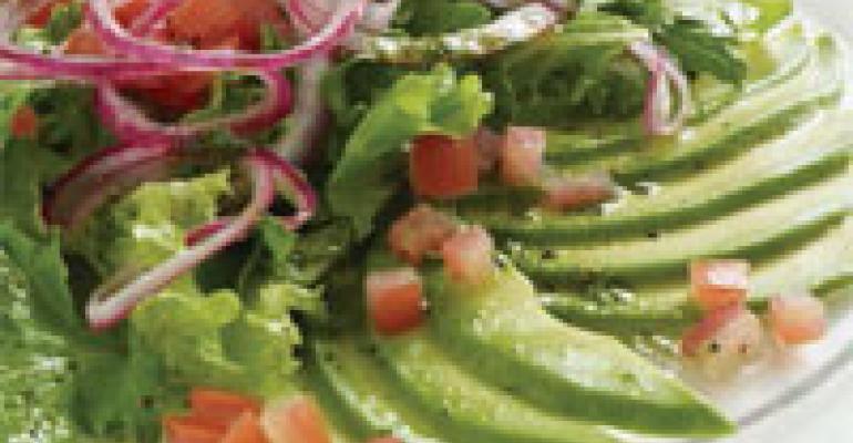 Avocado Carpacchio Salad