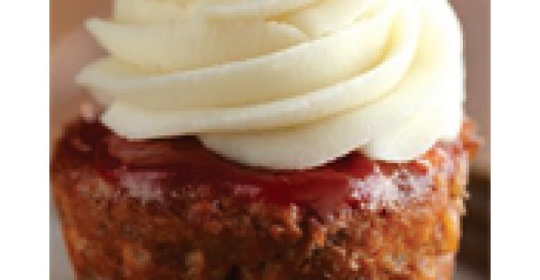 Meatloaf Cupcakes for Kids (of all ages)