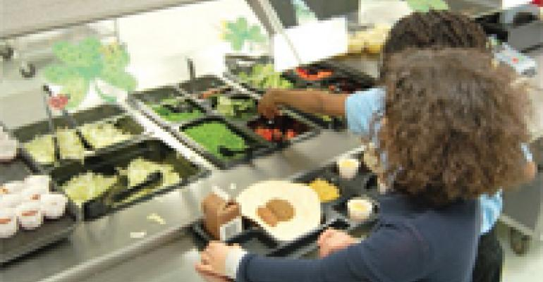 A Salad Bar in Every School?