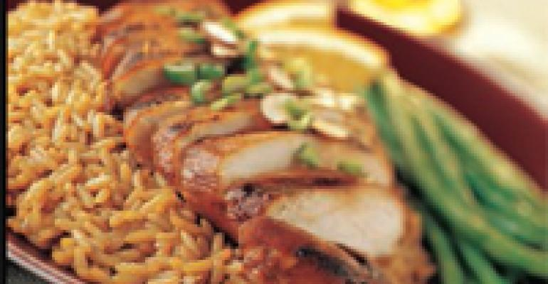 Spicy Chinese Chicken and Rice
