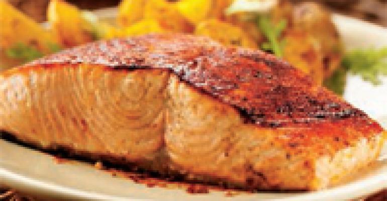Sweet-Smoky-Spicy Wild Salmon Rub