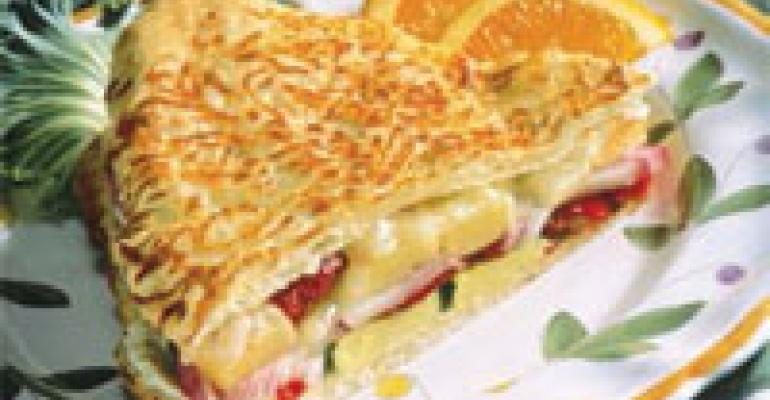 Grilled Vegetarian Sandwich