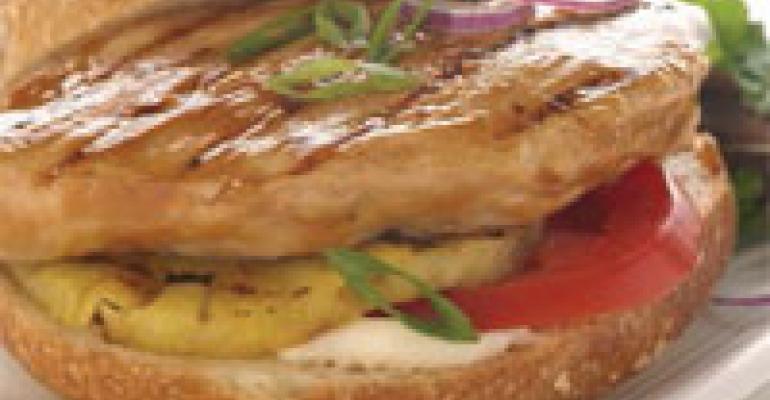 Maui Island Chicken Sandwich