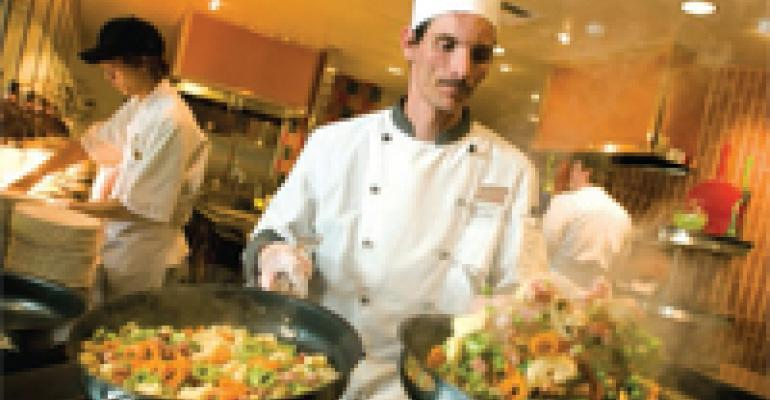 The Chef as Showman