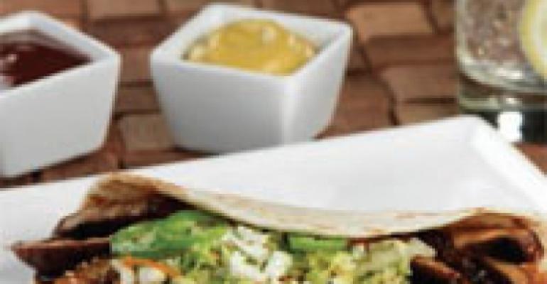 Mushroom Bulgogi Tacos