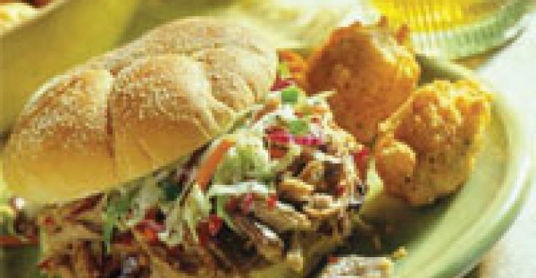 North Carolina Pulled Pork BBQ Sandwiches