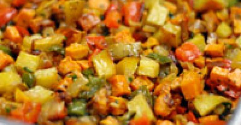 Yukon Gold & Sweet Potato Hash