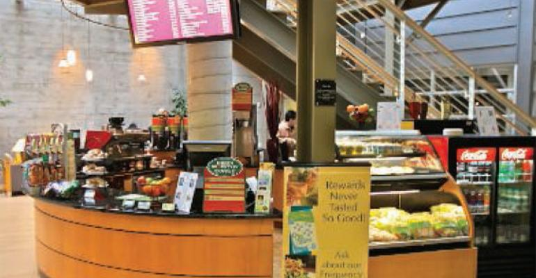New Dining Hall a Hit with Students