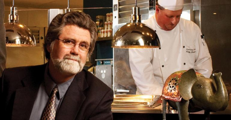 Mark Freeman: 2012 Silver Plate Winner in the Foodservice Management Category