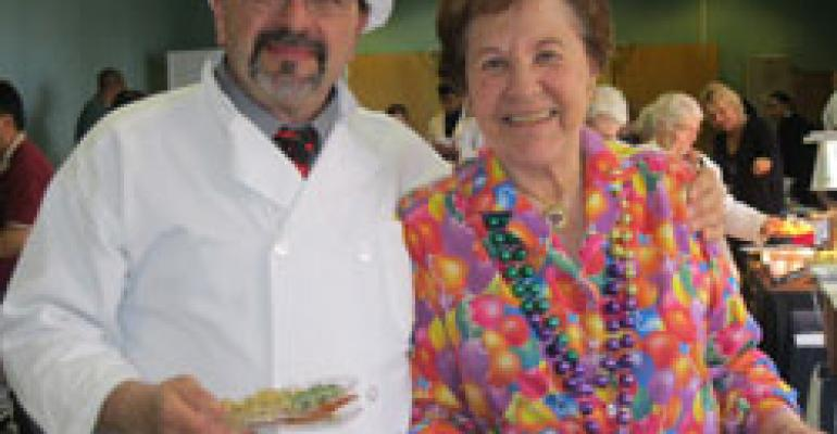 NY Nursing Home Plays Host to Food Show