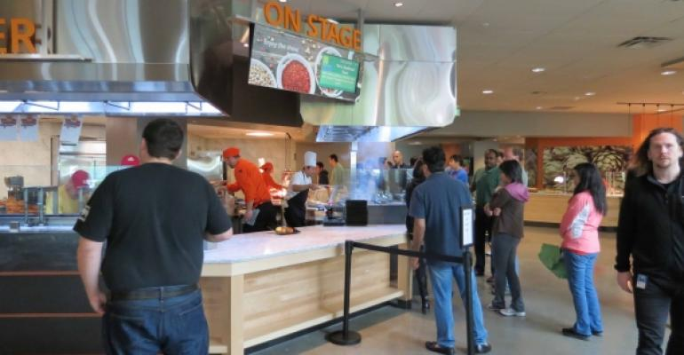 New Cafes Open at Microsoft Headquarters in Redmond