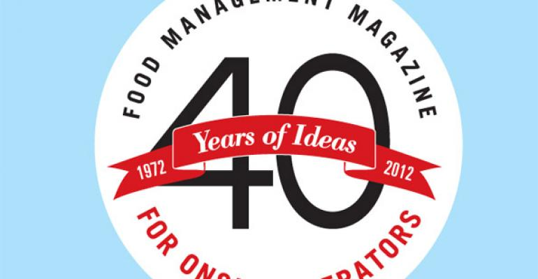 40 Years of Ideas Logo