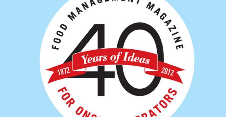 40 Years of Ideas Logo