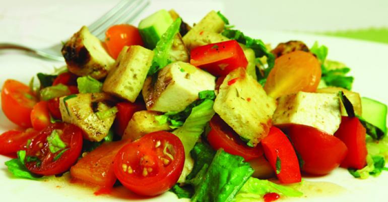 Chopped Chicken Fattoush Salad