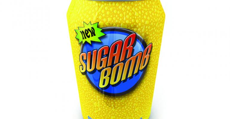 Soda can stock image