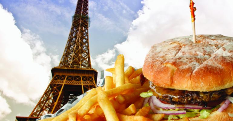 France burger picture