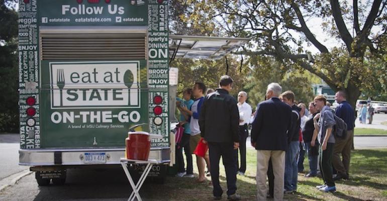 Michigan State Debuts Food Truck