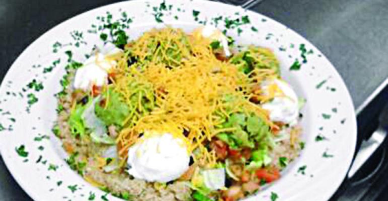 Quinoa Black Bean Burrito Bowl