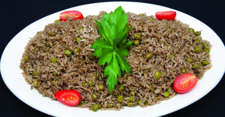 Yanicks Haitian Black Rice and Peas