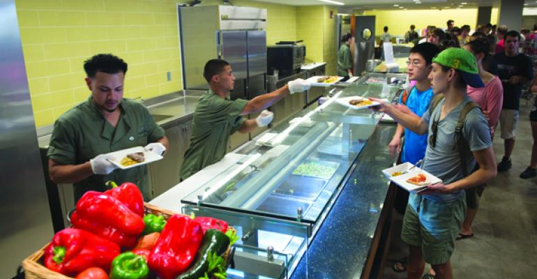 UConns McMahon Dining Hall