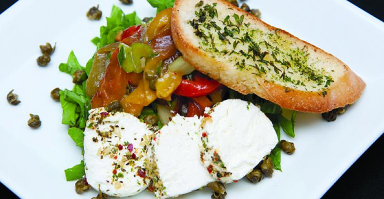Pyrrhas Roasted Pepper and Caper Salad