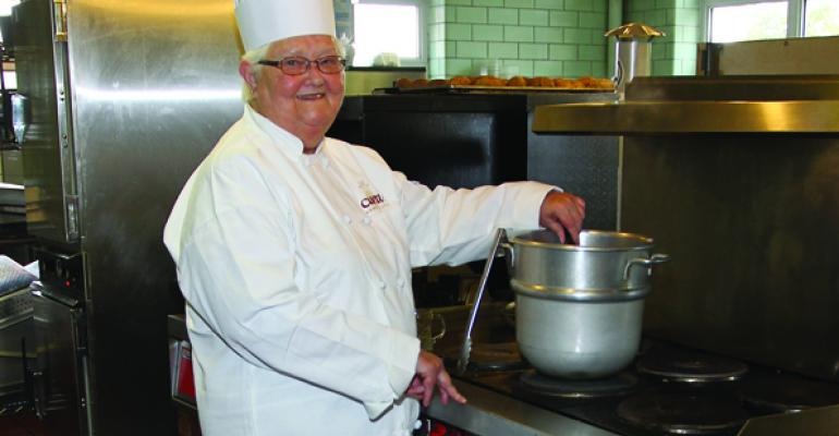 Sister Theresa of St Josephs makes SheCrab soup