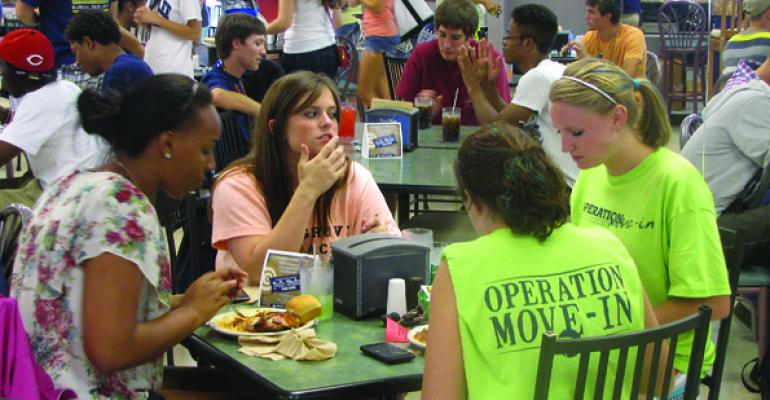 Georgia Southern Univerity dining hall