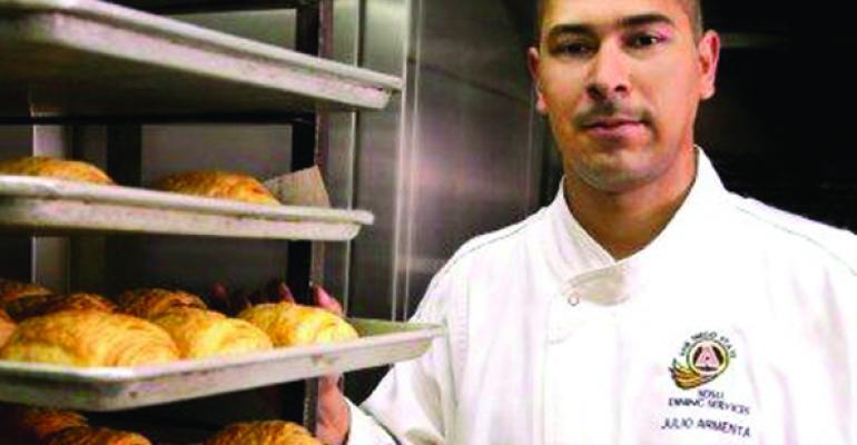 Julio Armenta production chef San Diego State University