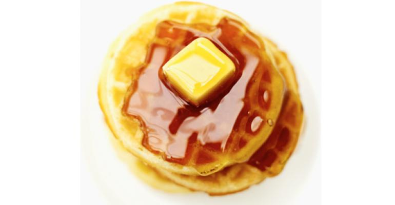 Chef Experiments with a Series of Signature Waffles