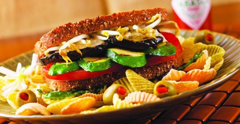 Hearty Vegetable Sandwich
