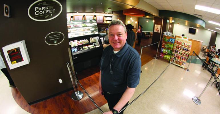 Parkland Memorials Retail Manager Tony Davidson