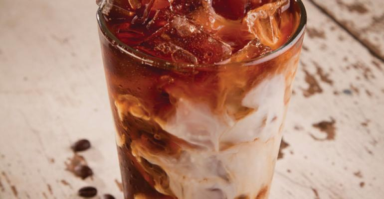 Jazzmans a coffee house brand from Sodexo is featuring several new iced coffee and tea drinks this summer at 200 different locations