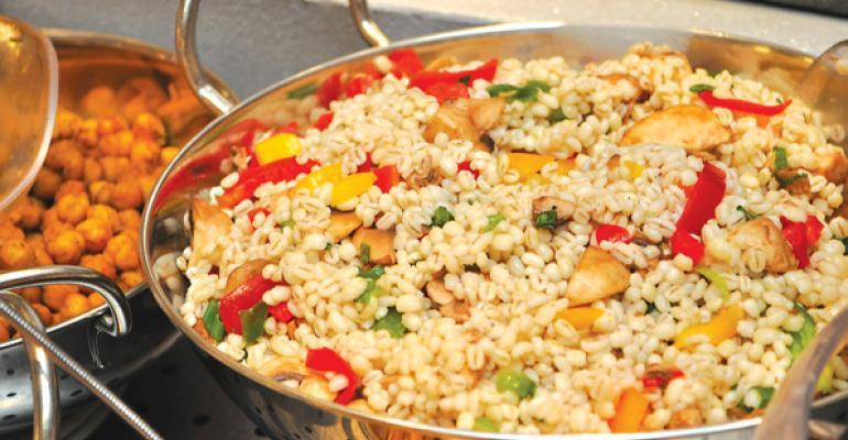 The Fresh Herb and Barley Salad