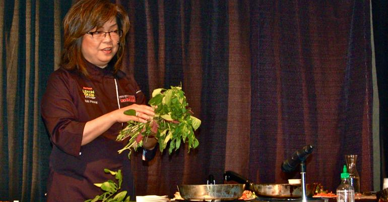Mai Pham Shares Fresh Strategies for Asian Food at NACUFS