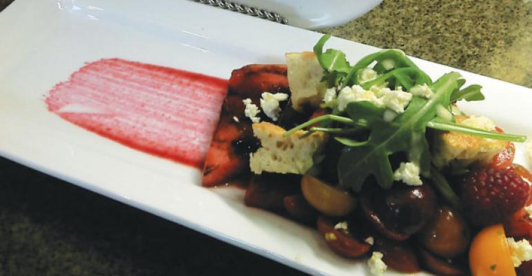 Heirloom Grape Tomato Salad
