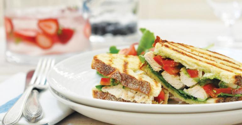 Chefs Get Healthy With Chicken Sandwiches
