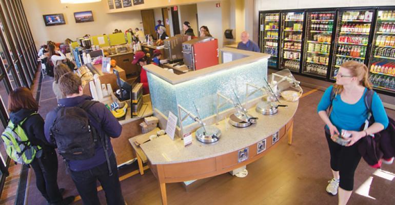 Best Convenience Retailing Concept: Univ. of Massachusetts-Amherst