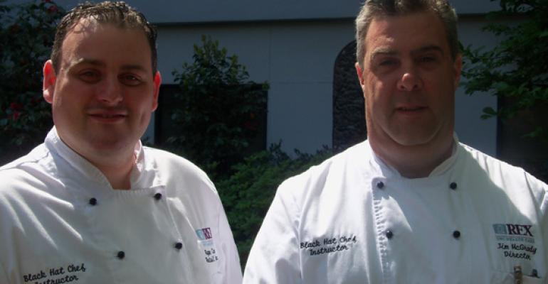 Executive Chef Ryan Conklin CEC and Director Jim McGrody of Rex Health Care Raleigh NC McGrody has developed a nononsense list of questions to ask when hiring an executive chef