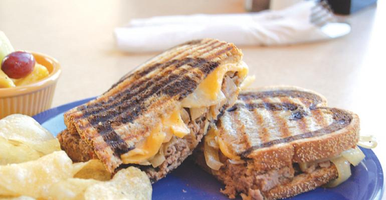 Sandwich of the Month: Meatloaf Patty Melt